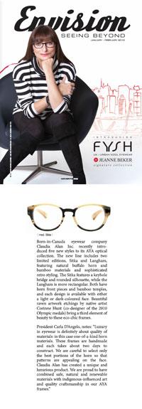 Envision Magazine Jan/Feb 2013