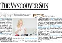 Vancouver Sun, November 23, 2013