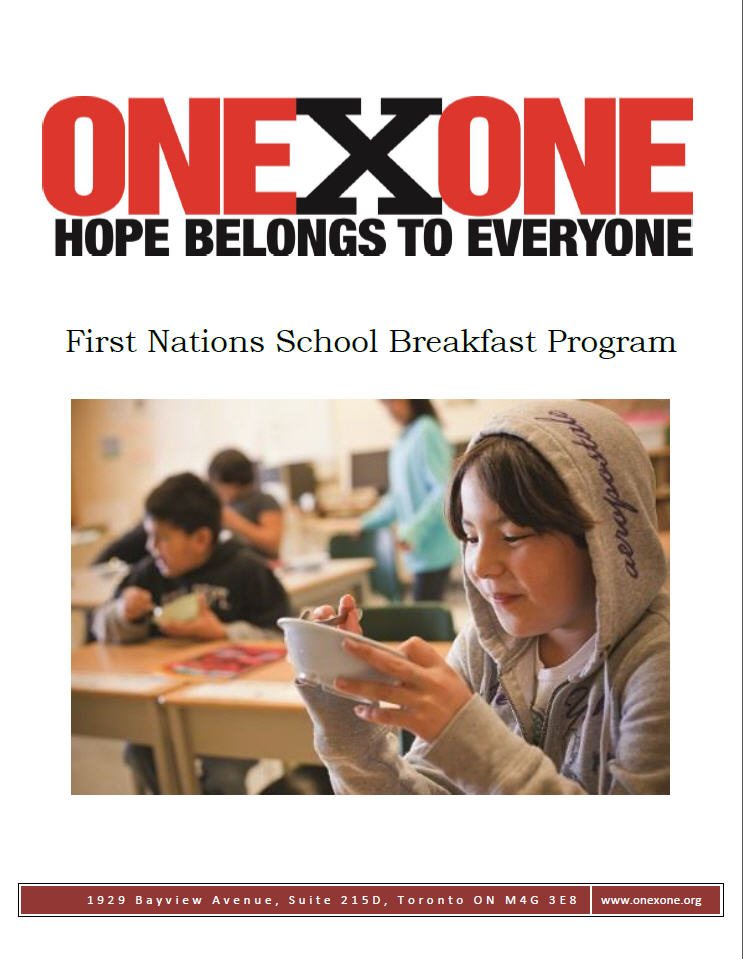 First Nations School Breakfast Program